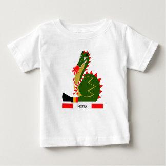 Green Dragon of city Mons, Belgium Baby T-Shirt
