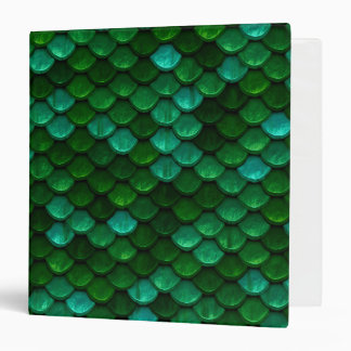 Green Dragon Scale Binder