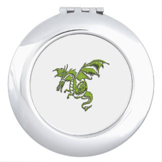 Green Dragon Vanity Mirrors