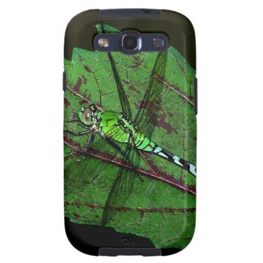 Green Dragonfly Galaxy SIII Case