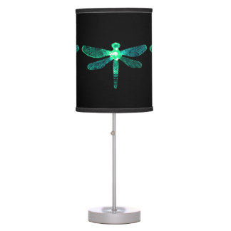 Green Dragonfly Table Lamp