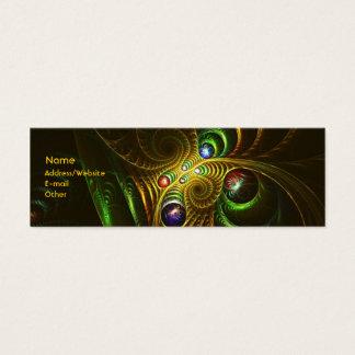 Green Dream Mini Business Card
