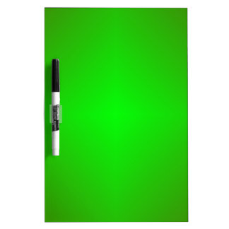Green Dry Erase Board