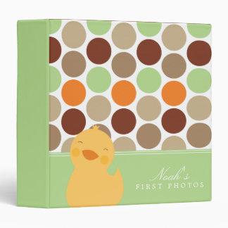 Green | Duckie Polkadots Photo Album Binder