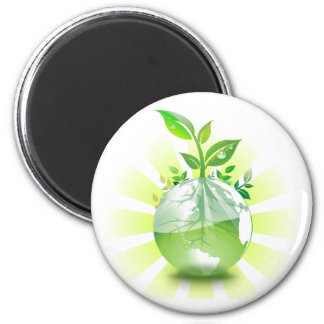 Green Earth Magnet