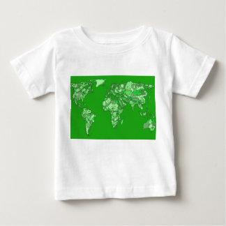 Green earth map tees