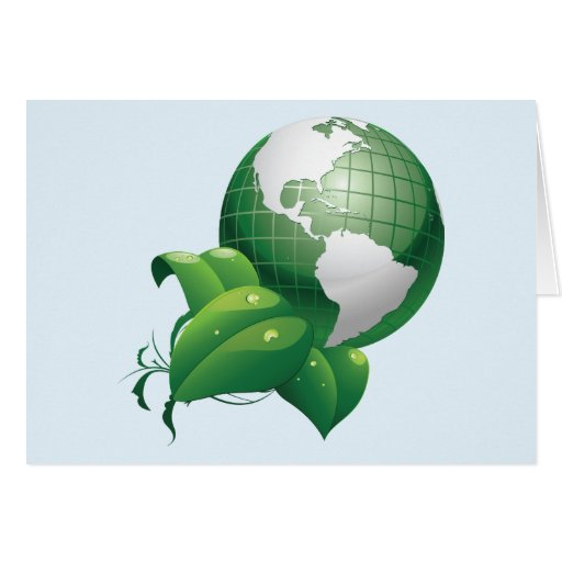 Green Earth ~ Nature Sustainable Environment Cards
