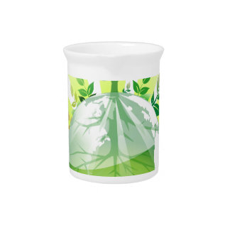 Green Earth Pitcher