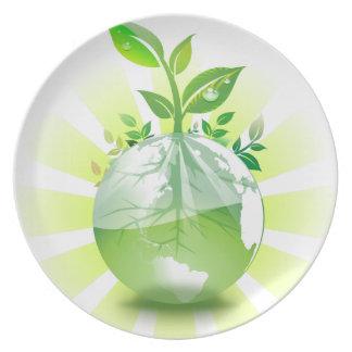 Green Earth Plate