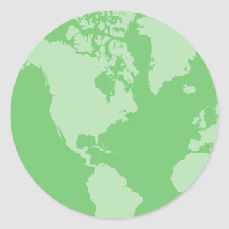 Green Earth Stickers