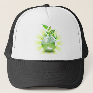 Green Earth Trucker Hat