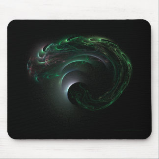 Green Eclipse Mousepad