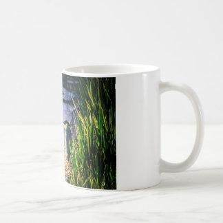 Green Egret Coffee Mug