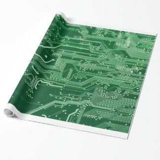 green electronic circuit board computer pattern