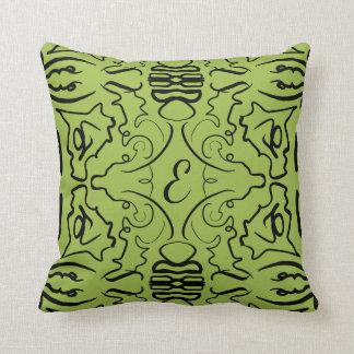 Green Elegance! Throw Pillow
