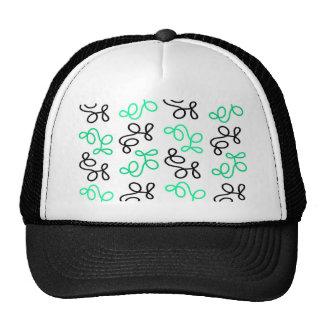 Green elegance trucker hat