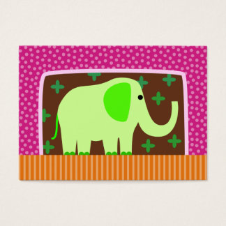 Green Elephant Business Card