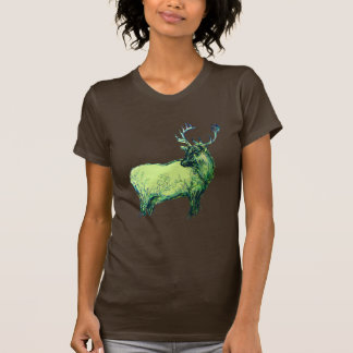 Green Elk T-Shirt