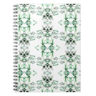 Green Emerald Spiral Notebook