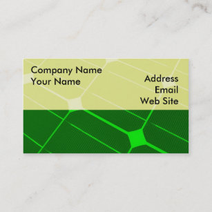 Green energy business cards business card printing zazzle ca green energy business card reheart Choice Image