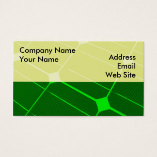 Green Energy Business Card