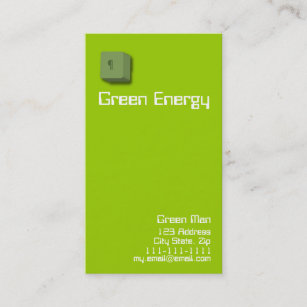 Green energy business cards business card printing zazzle ca green energy business cards reheart Images