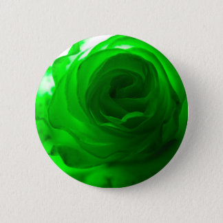 Green Envy Rose.jpg 2 Inch Round Button