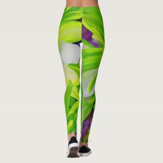 Green Envy Sexy Flower Yoga Pants/Leggings Leggings