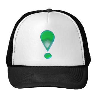Green Exclamation Mark Hat