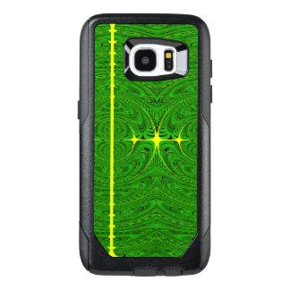 Green exotica OtterBox samsung galaxy s7 edge case