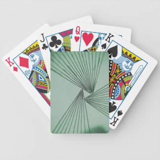 Green Explicit Focused Love Bicycle Playing Cards