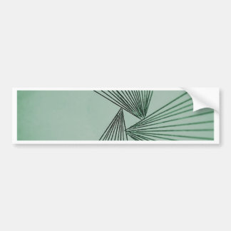 Green Explicit Focused Love Bumper Sticker