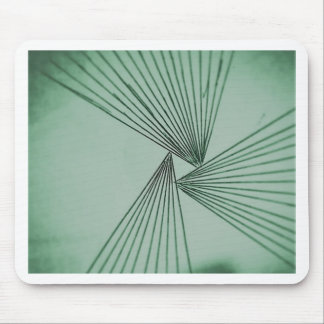 Green Explicit Focused Love Mouse Pad