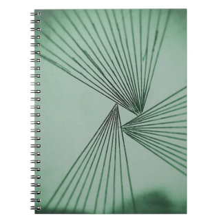 Green Explicit Focused Love Notebook