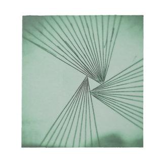 Green Explicit Focused Love Notepad