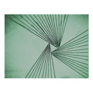 Green Explicit Focused Love Postcard