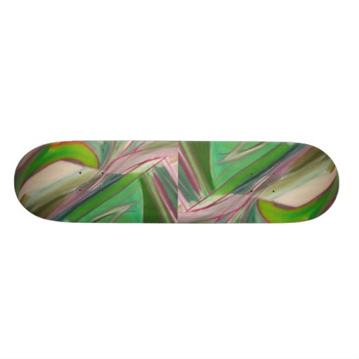 Green Extreme Skate Board