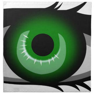 Green Eye Napkin