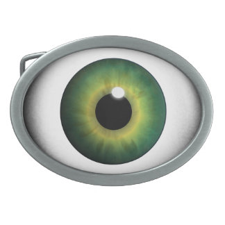 Green Eyeball Green Eye Iris Cool Belt Buckles
