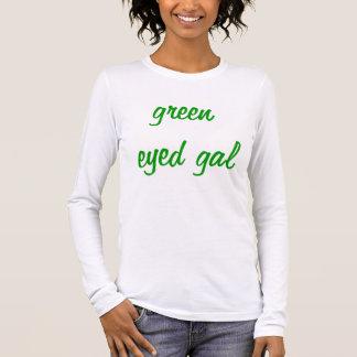 green eyed gal long sleeve T-Shirt