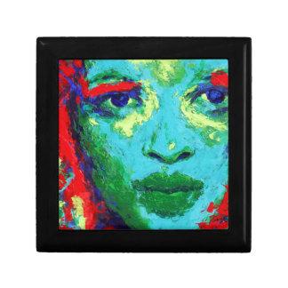 Green Face Gift Box