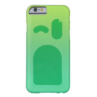 Green face PhoneCase Barely There iPhone 6 Case