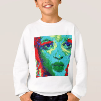 Green Face Sweatshirt