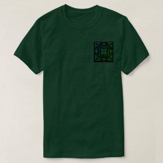 Green fade Ill triangle shirt