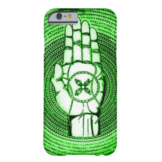 Green Faerie Oracle Hand Art Barely There iPhone 6 Case