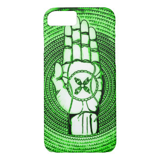 Green Faerie Oracle Hand Art iPhone 7 Case