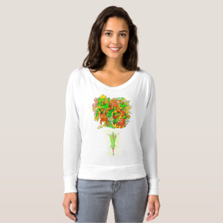 Green Fairy and Psychedelic Fun T-shirt