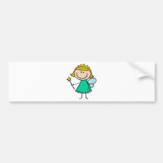 Green Fairy Bumper Sticker