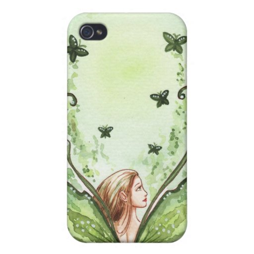 Green Fairy iPhone 4 Covers