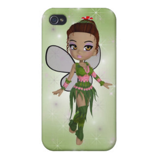 Green Fairy iPhone 4/4S Cases